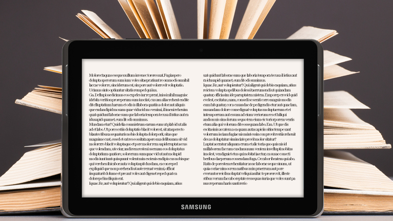 The ultimate- Tablet versus book