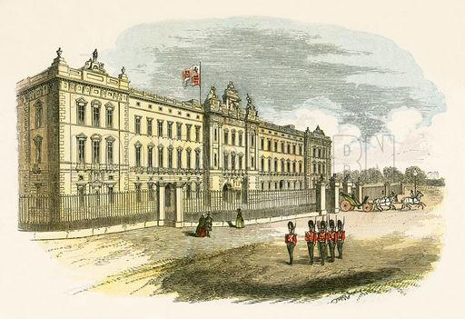 The history of Buckingham Palace